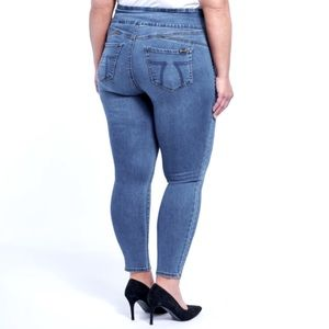🆕7 High Rise Tummy Flattener Jean